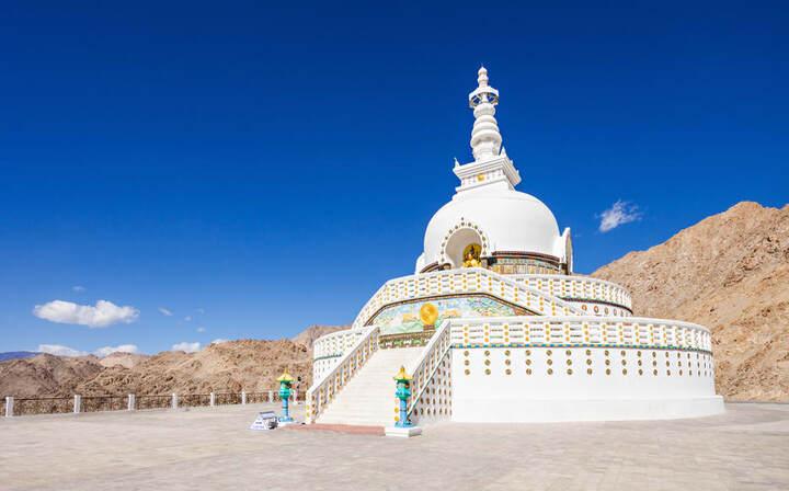 Leh Shanti Stupa